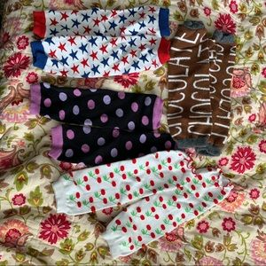 Set of (4) pairs of baby leg warmers